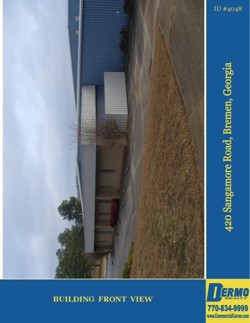 #4048 -  Industrial Property w/ 2 Buildings for Sale, Bremen, Georgia