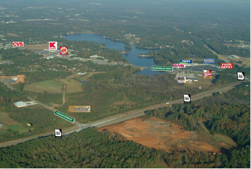 #1091 - 32 Acres on Burns Road, Carrollton, GA - Zoned R-3