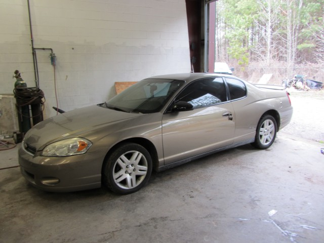 2006 Gold Chevrolet Monte Carlo For Sale In Bremen GA