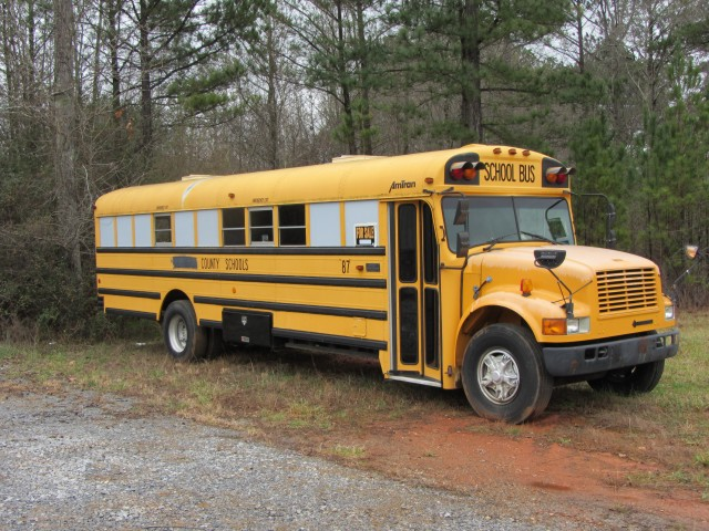 1993 International Converted School Bus For Sale In Bremen GA
