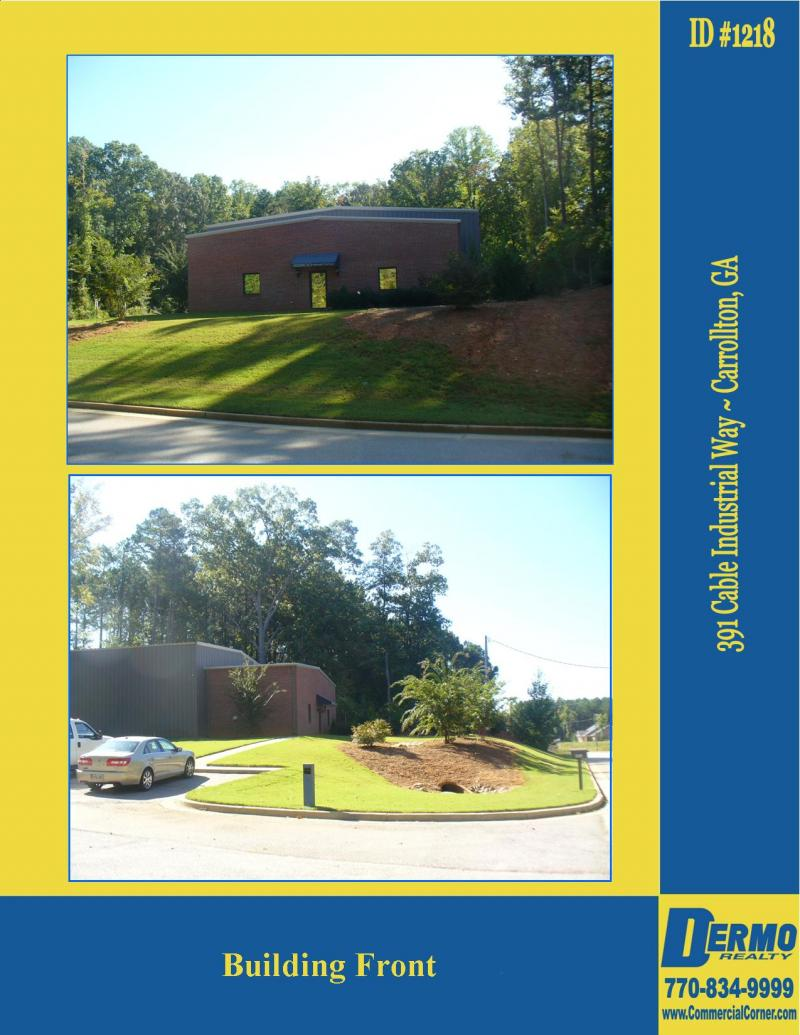 #1218 - 391 Cable Industrial Way, Carrollton, GA