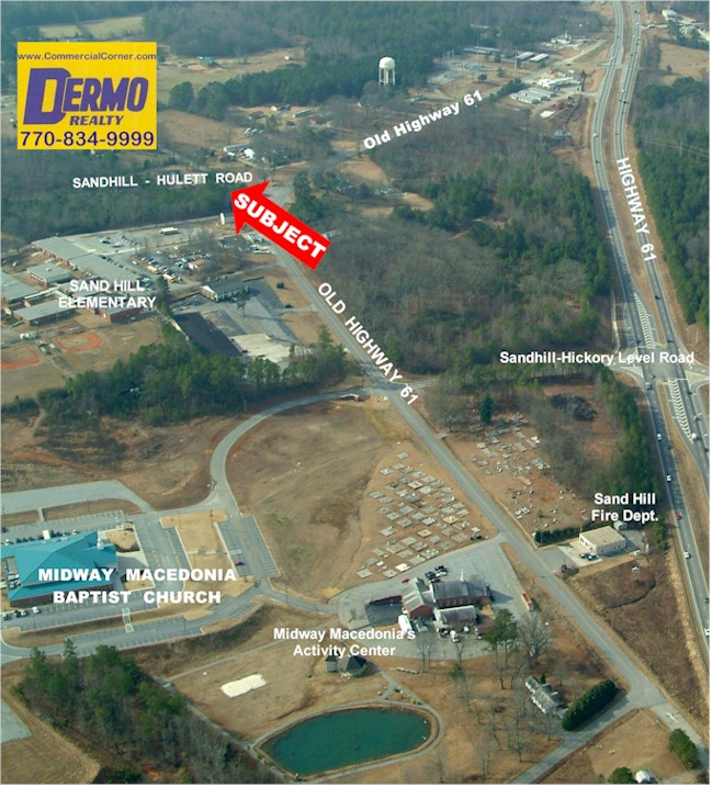 #3007- 3.8 Acres Sandhill-Hulett Road, Carrollton, Georgia