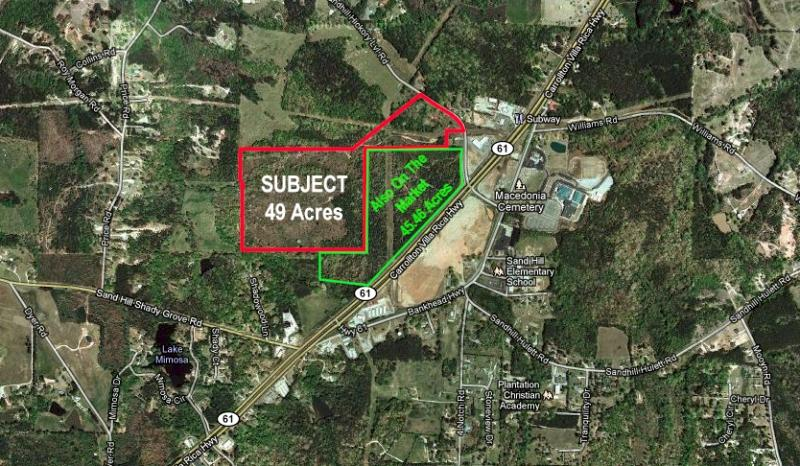 #3027 - 49 Agricultural Acres on Sandhill Hickory Level Road, Carrollton, Georgia